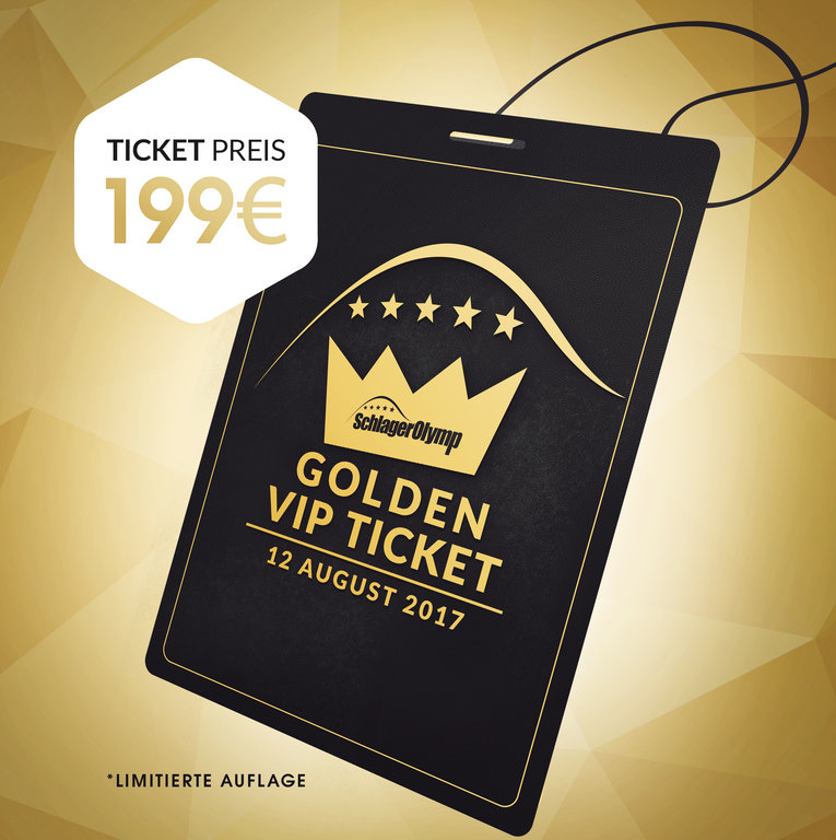 SchlagerOlymp // limitiertes VIP-Ticket // 12. August 2017