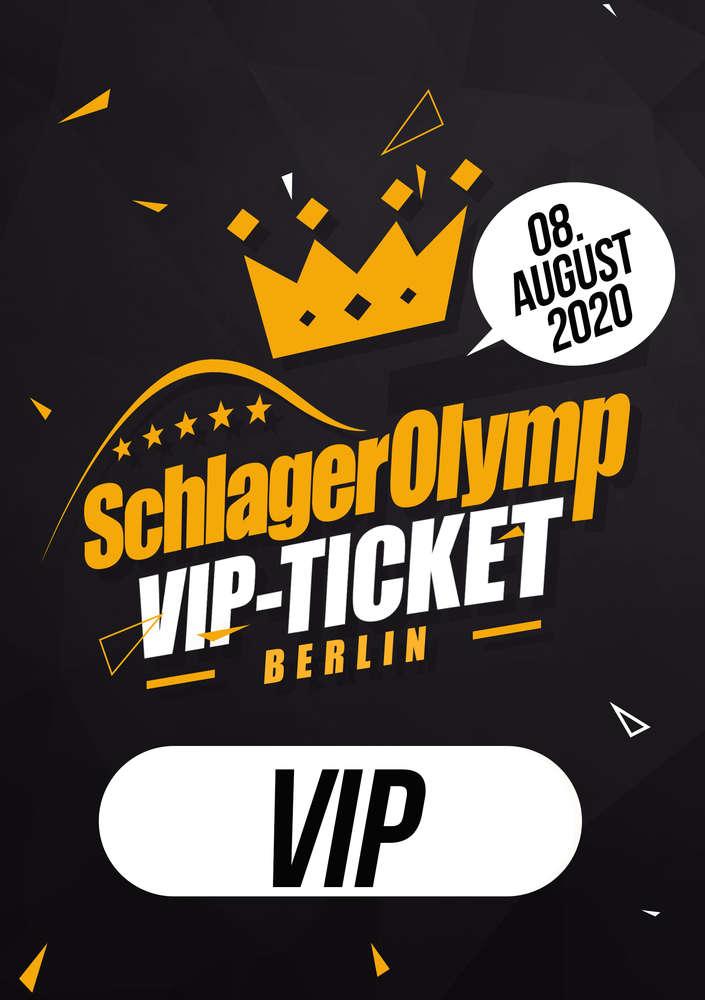 crazy price best online later SchlagerOlymp Berlin 2020 // limitiertes VIP-Ticket // 08.August 2020